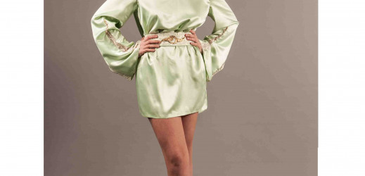 «La petite robe verte…»